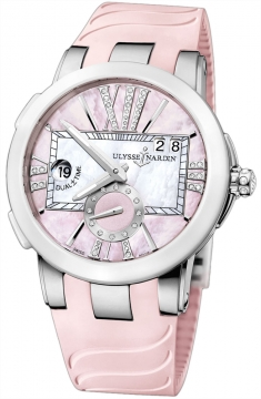 Ulysse Nardin Executive Dual Time Lady Ladies watch, model number - 243-10-3/397, discount price of £6,859.00 from The Watch Source
