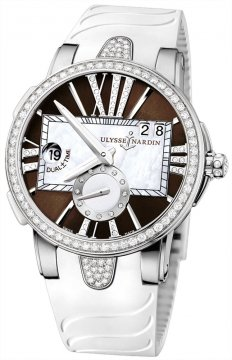 Ulysse Nardin Executive Dual Time Lady Ladies watch, model number - 243-10B-3C/30-05, discount price of £11,332.00 from The Watch Source