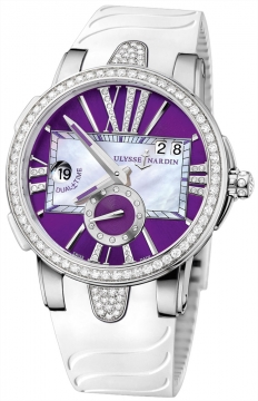Ulysse Nardin Executive Dual Time Lady Ladies watch, model number - 243-10B-3C/30-07, discount price of £11,332.00 from The Watch Source