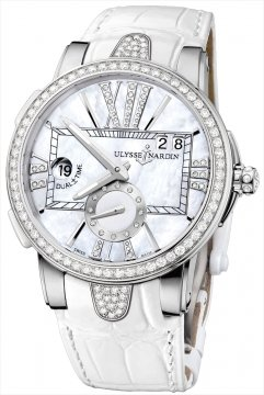 Ulysse Nardin Executive Dual Time Lady Ladies watch, model number - 243-10B/391, discount price of £12,652.00 from The Watch Source