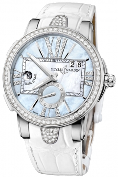 Ulysse Nardin Executive Dual Time Lady Ladies watch, model number - 243-10B/393, discount price of £11,163.00 from The Watch Source