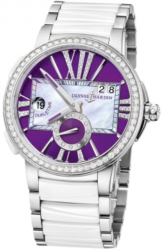 Ulysse Nardin Executive Dual Time Lady Ladies watch, model number - 243-10b-7/30-07, discount price of £11,887.00 from The Watch Source