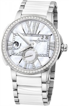 Ulysse Nardin Executive Dual Time Lady Ladies watch, model number - 243-10b-7/391, discount price of £13,472.00 from The Watch Source