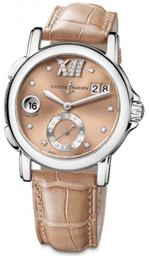 Ulysse Nardin GMT Big Date 37mm Ladies watch, model number - 243-22/30-02, discount price of £4,845.00 from The Watch Source