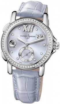 Ulysse Nardin GMT Big Date 37mm Ladies watch, model number - 243-22B/30-07, discount price of £8,058.00 from The Watch Source