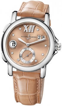 Ulysse Nardin GMT Big Date 37mm Ladies watch, model number - 243-22/30-09, discount price of £4,845.00 from The Watch Source