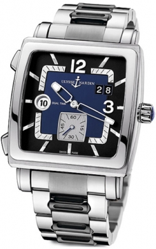 Ulysse Nardin Quadrato Dual Time Mens watch, model number - 243-92-7m/632, discount price of £6,608.00 from The Watch Source