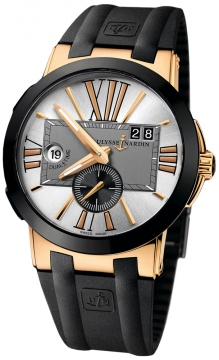 Ulysse Nardin Executive Dual Time 43mm Mens watch, model number - 246-00-3/421, discount price of £13,974.00 from The Watch Source