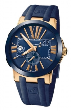 Ulysse Nardin Executive Dual Time 43mm Mens watch, model number - 246-00-3/43, discount price of £13,150.00 from The Watch Source