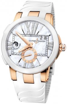 Ulysse Nardin Executive Dual Time Lady Ladies watch, model number - 246-10-3/391, discount price of £12,330.00 from The Watch Source