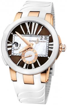 Ulysse Nardin Executive Dual Time Lady Ladies watch, model number - 246-10-3/30-05, discount price of £13,974.00 from The Watch Source