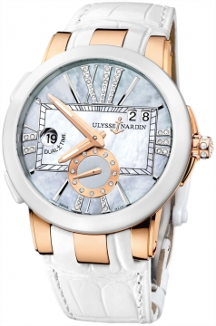 Ulysse Nardin Executive Dual Time Lady Ladies watch, model number - 246-10/392, discount price of £13,787.00 from The Watch Source
