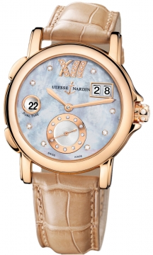 Ulysse Nardin GMT Big Date 37mm Ladies watch, model number - 246-22/392, discount price of £11,441.00 from The Watch Source