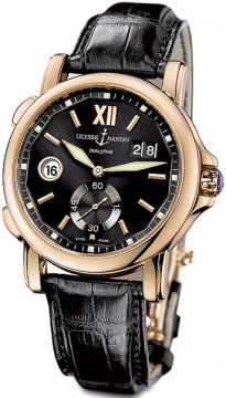 Ulysse Nardin GMT Big Date 42mm Mens watch, model number - 246-55/32, discount price of £13,974.00 from The Watch Source