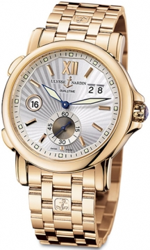 Ulysse Nardin GMT Big Date 42mm Mens watch, model number - 246-55-8/31, discount price of £20,943.00 from The Watch Source