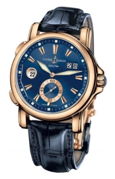 Ulysse Nardin GMT Big Date 42mm Mens watch, model number - 246-55/93, discount price of £14,662.00 from The Watch Source