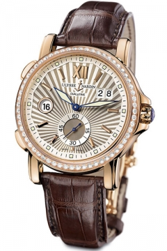 Ulysse Nardin GMT Big Date 42mm Mens watch, model number - 246-55b/30, discount price of £16,552.00 from The Watch Source