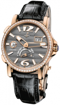 Ulysse Nardin GMT Big Date 42mm Mens watch, model number - 246-55b/69, discount price of £16,552.00 from The Watch Source