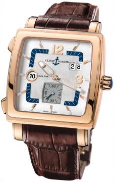 Ulysse Nardin Quadrato Dual Time Mens watch, model number - 246-92/600, discount price of £18,066.00 from The Watch Source