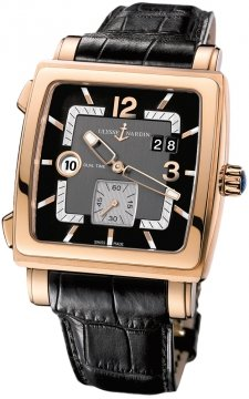 Ulysse Nardin Quadrato Dual Time Mens watch, model number - 246-92/692, discount price of £17,000.00 from The Watch Source