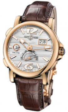 Ulysse Nardin GMT Big Date 42mm Mens watch, model number - 246-55/60, discount price of £13,974.00 from The Watch Source