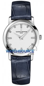 Vacheron Constantin Traditionnelle Quartz 30mm Ladies watch, model number - 25155/000g-9584, discount price of £9,060.00 from The Watch Source