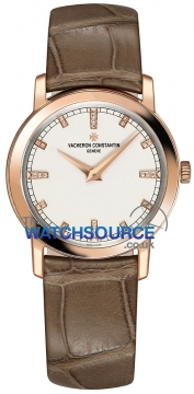 Vacheron Constantin Traditionnelle Quartz 30mm Ladies watch, model number - 25155/000r-9585, discount price of £10,980.00 from The Watch Source