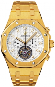 Audemars Piguet Royal Oak Tourbillon Chronograph Mens watch, model number - 25977ba.oo.1205ba.02, discount price of £160,300.00 from The Watch Source