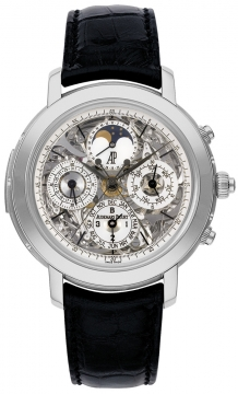 Audemars Piguet Jules Audemars Grand Complication Mens watch, model number - 25996pt.oo.d002cr.01, discount price of £570,600.00 from The Watch Source