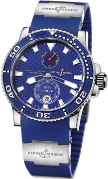Ulysse Nardin Maxi Marine Diver Chronometer Mens watch, model number - 260-32-3a, discount price of £21,092.00 from The Watch Source