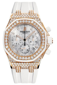 Audemars Piguet Royal Oak Offshore Chronograph 37mm Ladies watch, model number - 26092ok.zz.d010ca.01, discount price of £56,440.00 from The Watch Source