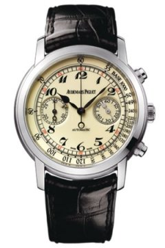 Audemars Piguet Jules Audemars Automatic Chronograph Mens watch, model number - 26100bc.oo.d002cr.01, discount price of £25,500.00 from The Watch Source