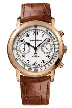 Audemars Piguet Jules Audemars Automatic Chronograph Mens watch, model number - 26100or.oo.d088cr.01, discount price of £22,650.00 from The Watch Source