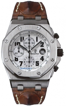 Audemars Piguet Royal Oak Offshore Chronograph 42mm Mens watch, model number - SAFARI 26170st.oo.d091cr.01, discount price of £19,855.00 from The Watch Source