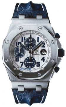 Audemars Piguet Royal Oak Offshore Chronograph 42mm Mens watch, model number - NAVY 26170st.oo.d305cr.01, discount price of £19,855.00 from The Watch Source