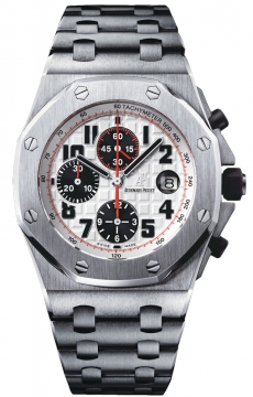 Audemars Piguet Royal Oak Offshore Chronograph 42mm Mens watch, model number - PANDA 26170st.oo.1000st.01, discount price of £21,185.00 from The Watch Source