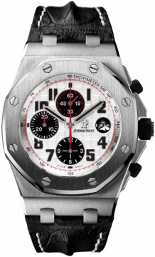 Audemars Piguet Royal Oak Offshore Chronograph 42mm Mens watch, model number - 26170st.oo.d101cr.02, discount price of £19,855.00 from The Watch Source