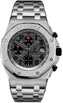 Audemars Piguet Royal Oak Offshore Chronograph 42mm Mens watch, model number - 26170ti.oo.1000ti.01, discount price of £17,510.00 from The Watch Source