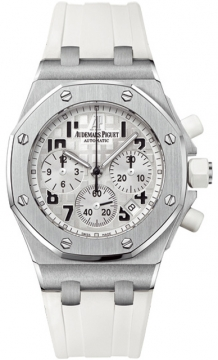 Audemars Piguet Royal Oak Offshore Chronograph 37mm Ladies watch, model number - 26283st.oo.d010ca.01, discount price of £13,170.00 from The Watch Source