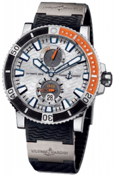 Ulysse Nardin Maxi Marine Diver Titanium Mens watch, model number - 263-90-3/91, discount price of £5,979.00 from The Watch Source