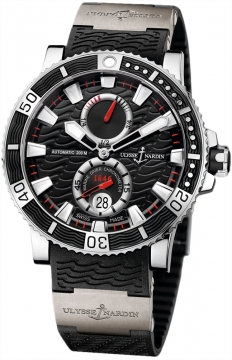 Ulysse Nardin Maxi Marine Diver Titanium Mens watch, model number - 263-90-3/72, discount price of £5,979.00 from The Watch Source