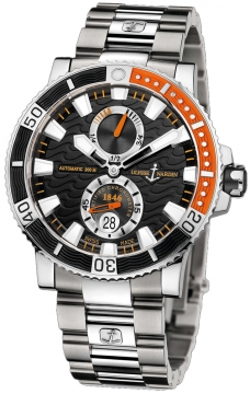 Ulysse Nardin Maxi Marine Diver Titanium Mens watch, model number - 263-90-7m/92, discount price of £6,736.00 from The Watch Source