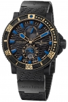 Ulysse Nardin Maxi Marine Diver Black Sea 263-92LE-3c/923-rg watch