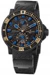 Ulysse Nardin Maxi Marine Diver Black Sea 263-92LE-3c/923-rg watch