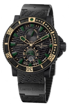 Ulysse Nardin Maxi Marine Diver Black Sea Mens watch, model number - 263-92LE-3c/928-rg, discount price of £8,000.00 from The Watch Source