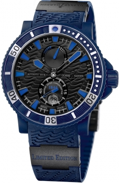 Ulysse Nardin Maxi Marine Diver Blue Sea Mens watch, model number - 263-97LE-3C, discount price of £6,859.00 from The Watch Source