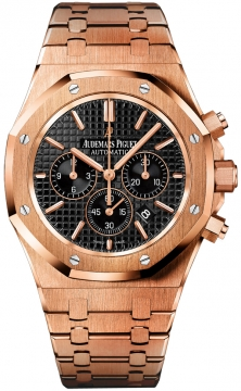 Audemars Piguet Royal Oak Chronograph 41mm Mens watch, model number - 26320or.oo.1220or.01, discount price of £40,950.00 from The Watch Source