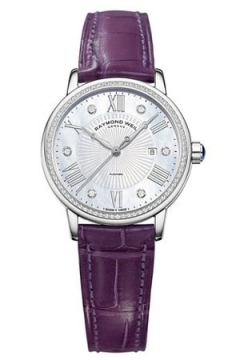 Raymond Weil Maestro Ladies watch, model number - 2637-sls-00966, discount price of £1,780.00 from The Watch Source