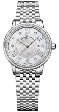 Raymond Weil Maestro Ladies watch, model number - 2637-sts-00966, discount price of £1,780.00 from The Watch Source