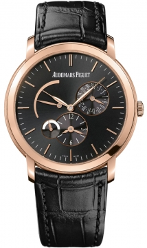 Audemars Piguet Jules Audemars Dual Time Mens watch, model number - 26380or.oo.d002cr.01, discount price of £26,271.00 from The Watch Source